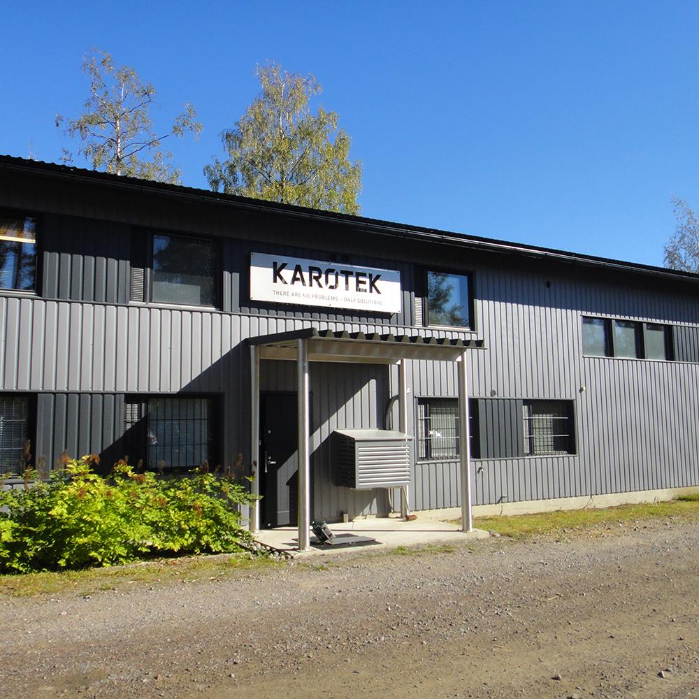 Karotek Oy:n toimitila Jokelassa